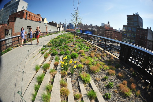 High Line Park, New York City