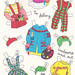 Paper Doll Clothes Front