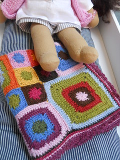 Mini Babette blanket for doll