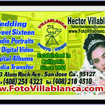 weddings quinceaneras sweet sixteen bar bat mitzvah san jose santa clara san francisco california villablanca photo video