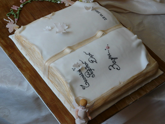 Open Book Cake Images : Open book cake Flickr - Photo Sharing!