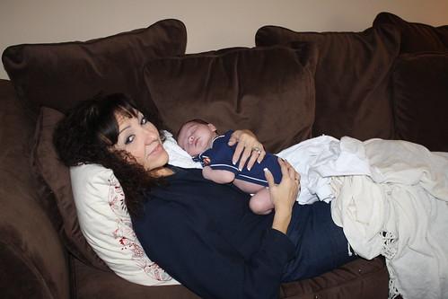 Nana and James- April 2011