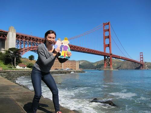 Flat Stanley, San Francisco, Golden Gate Br… IMG_5605