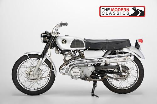 1966 Honda CL160 Scrambler