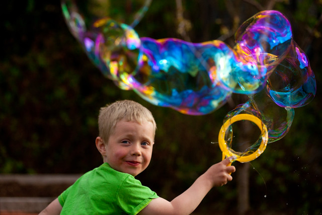 Soap Bubble Spring
