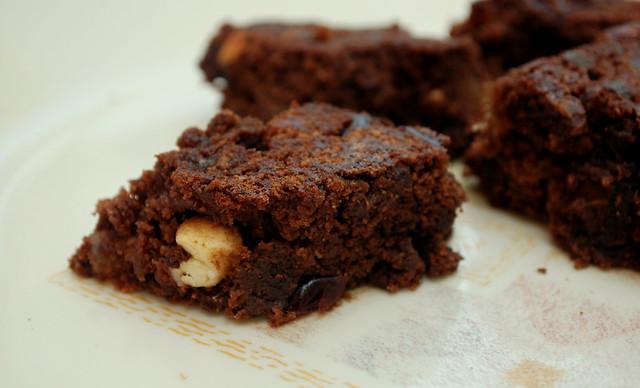Chocolate cherry fruit cake with rum | Flickr - Photo Sharing!