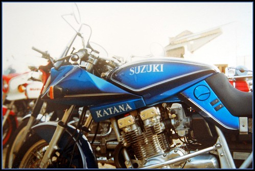 Suzuki Katana Dream Machine Paintwork by davekpcv