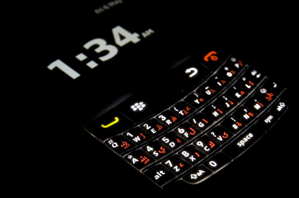 Blackberry Bold 9780 QWERTY Keyboard | uk blackberry com/dev