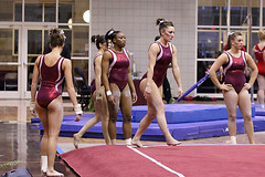 TWU Gymnastics [Floor] Mollie Blessing