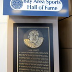 California: San Francisco International Airport - Bay Area sports Hall of Fame - Joe Kapp