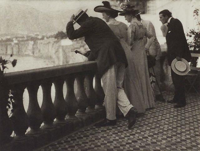 The Balcony, Sorrento, 1909, by Karl Struss