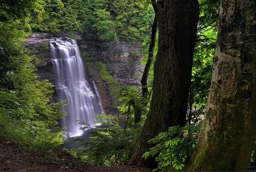 ny photography waterfall hiking upstate glen trail waterfalls gorge hiker salmonriver tughill gully brettmaurer