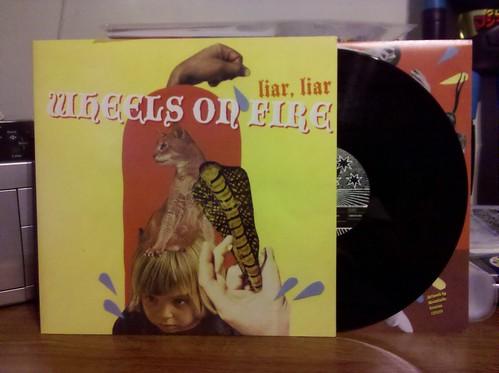 Wheels On Fire - Liar, Liar LP