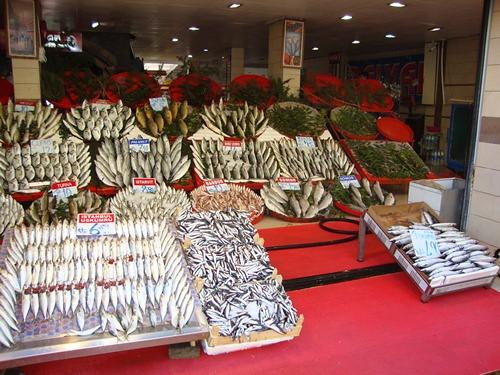 Fish Stall in Kayseri