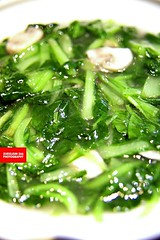 鸡毛菜里挑蘑菇 (Chinese Cabbage With Mushro…