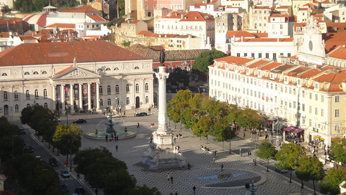 Lisboa, Praça D. Pedro IV