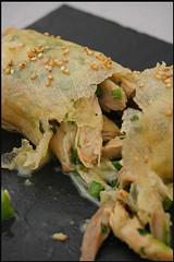 Spring roll de poulet