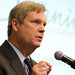 Agriculture Secretary Tom Vilsack talks with Organic Trade Association Conference