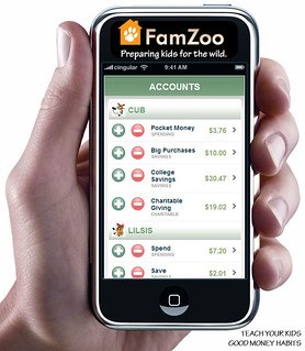 FamZoo for the iPhone: Account Balances