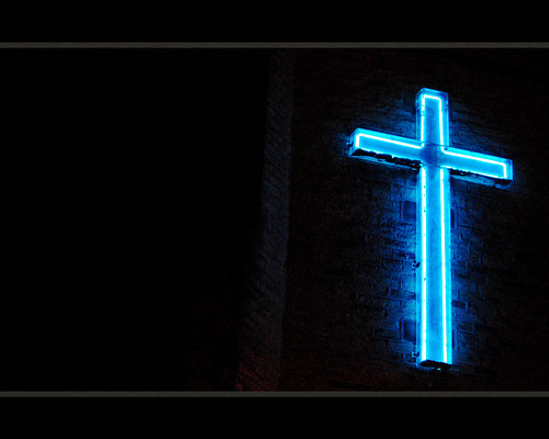 Neon Cross II
