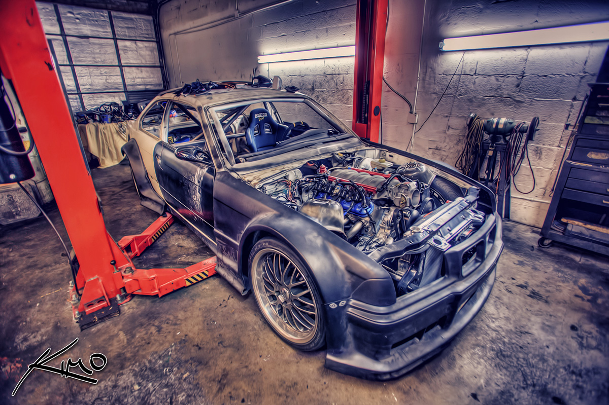 ter tech 39 s new drifting car bmw m3 e36 with corvette. Black Bedroom Furniture Sets. Home Design Ideas