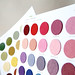 Fancy Felt Color Chart // Package Design