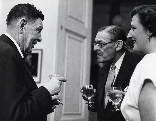 T. S. Eliot, W. H. Auden and Valerie Eliot