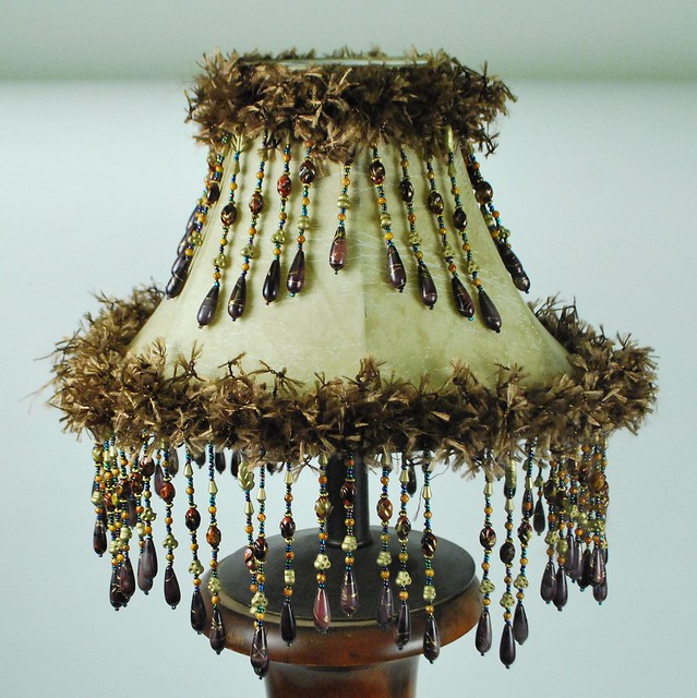 Making Lamp Shades on Lamp Shade Beaded Trims   Flickr   Photo Sharing