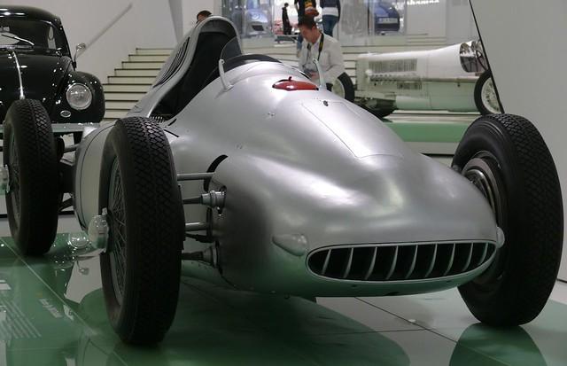 Porsche Typ 360 Cisitalia silver 1947 vr2