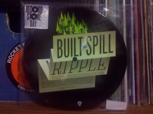 Record Store Day Haul #3 - Built To Spill - Ripple Picture Disc 7""