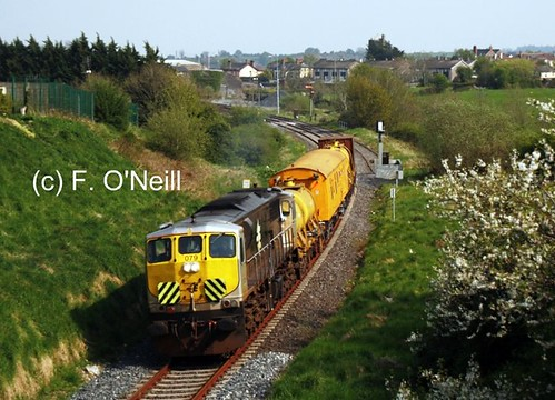ireland gm diesel coco locomotive dieselengine generalmotors 079 diesellocomotive 071class finbarroneill unkrautspritzzug finnyus unkrautspritze unkrautspritzen