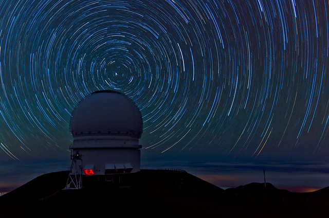 Mauna Kea Star Trails - [EXPLORED]