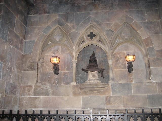Inside Hogwarts Castle - The Sorting Hat | Flickr - Photo ...
