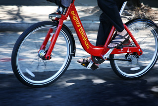 DC has the country's most popular bikesharing program (courtesy of DC Dept of Transportation)