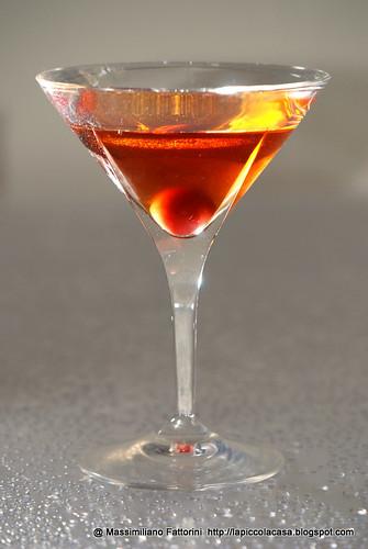 Il cocktail del sabato: la ricetta del Gin Manhattan