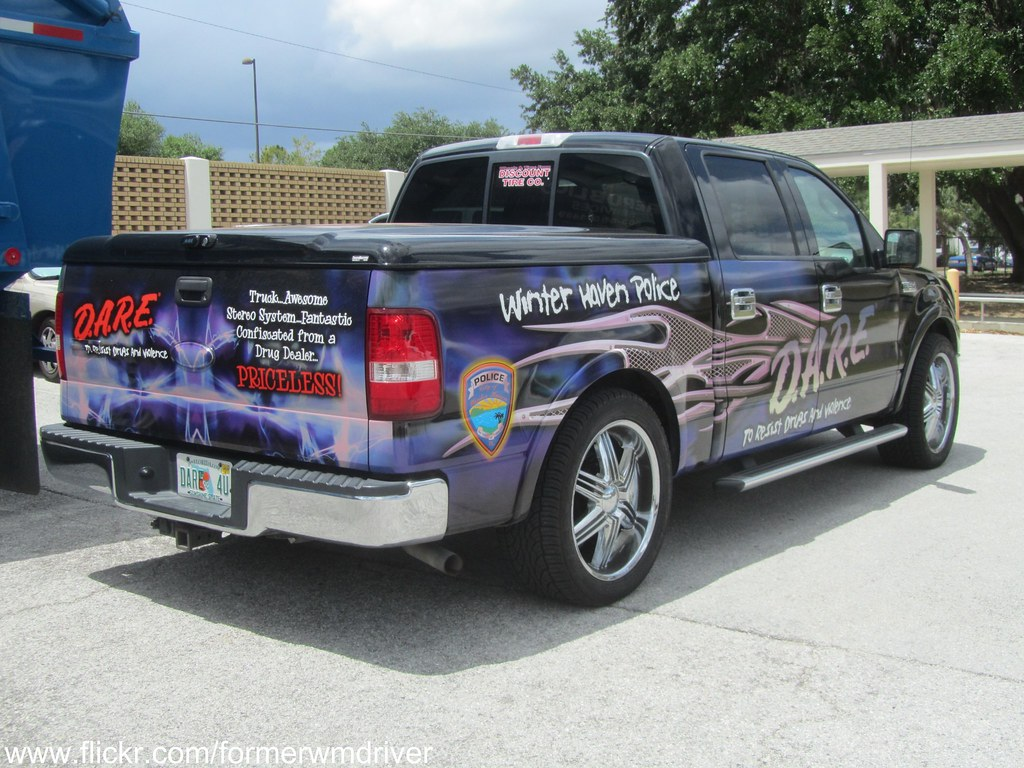 Winter Haven Ford >> Winter Haven Police D A R E Ford F 150 Love The Quote O