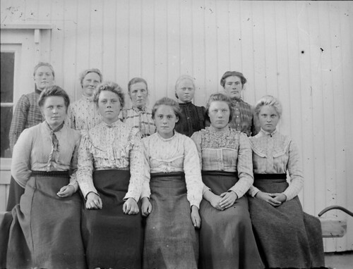 The girls at Kråkeneset