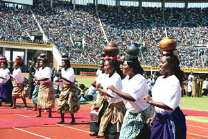 Cultural performance at the 31st anniversary of Zimbabwe independence in the capital of Harare. The country is preparing for national elections within the next year. by Pan-African News Wire File Photos