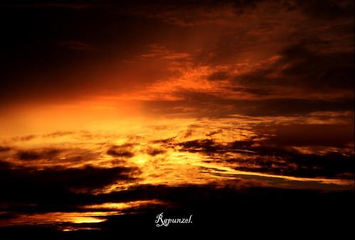 sky clouds sunrise canon cielo nubes
