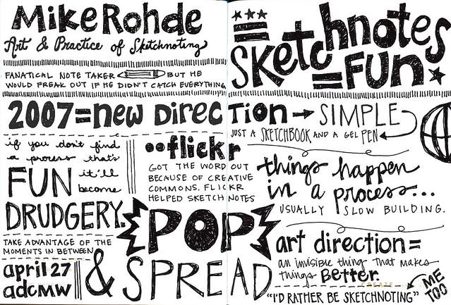 Sketchnotes+MikeRohde