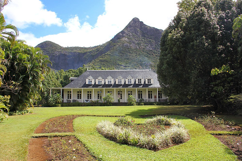 road old house mountain green garden outside island view heart maurice colonial ile tropical mansion mauritius eureka moka creole 550d