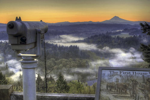 morning sky mist fog oregon sunrise landscape dawn early view bend sandy foggy scenic trail valley mounthood hdr devilsbackbone sandyriver 3xp jonsrudviewpoint canoneos7d mygearandme sigma2470mmifexdghsm sigma50th freetelescope