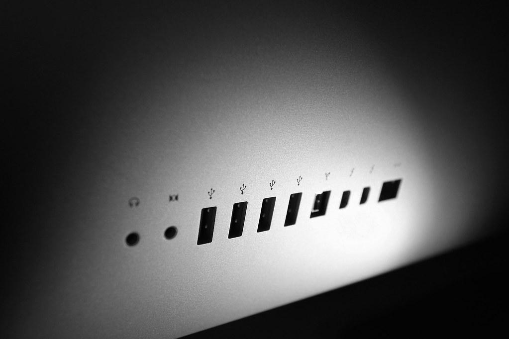 The iMac's Ports