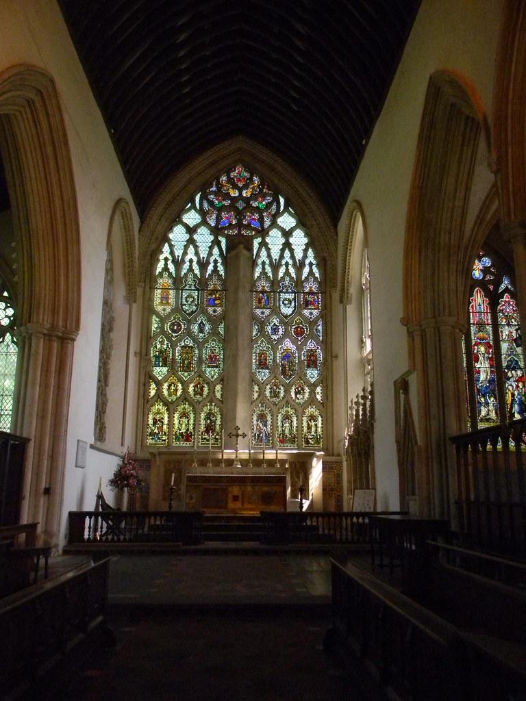 Abbey Window Dorchester Abbey. Appleford Circular