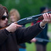 Emme Rogers Takes Aim on the Skeet Range at the Yorkton Film Festival. by Roamancing ...