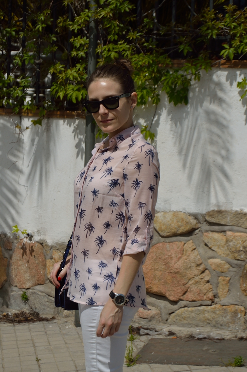 lara-vazquez-madlula-blog-style-fashion-trends-pink-look-white-outfit-spring-2014