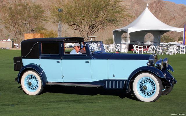 1930 Rolls-Royce Phantom II Windovers Sedanca de Ville - fvr