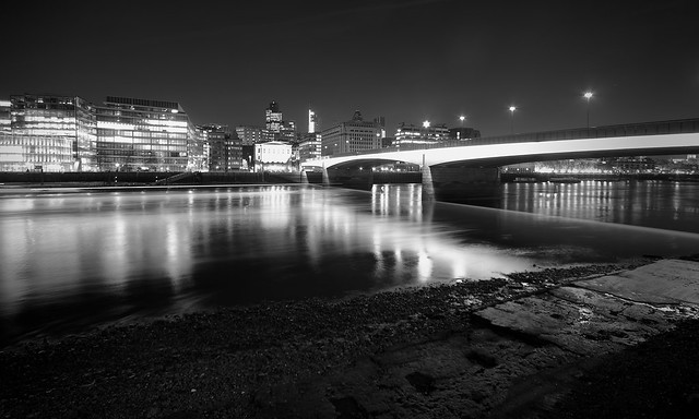 London Bridge is Black and White