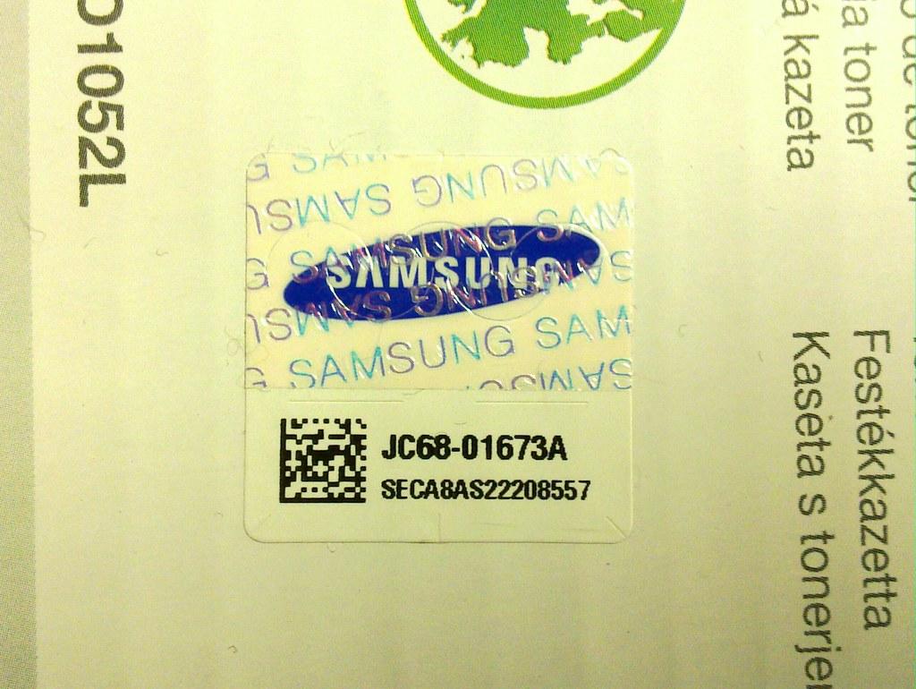 Samsung data matrix code | Nick Jones | Flickr