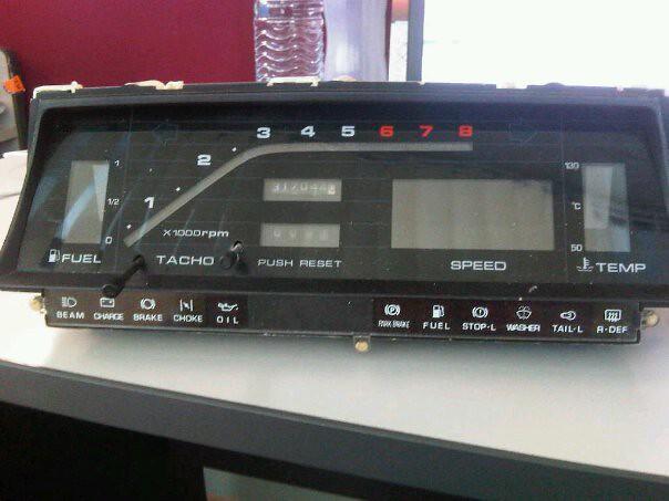 Mazda 626 Digital Meter Diagram
